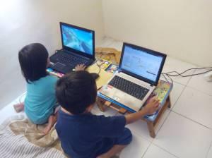 Rumah FAFA Ceria - belajar komputer